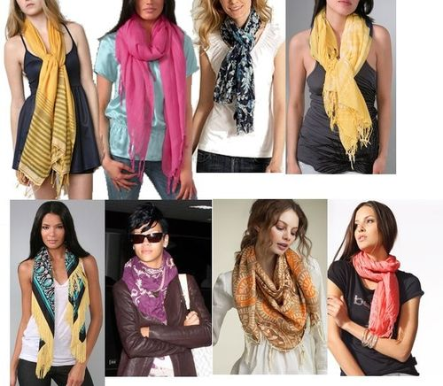 Как повязать шарф?