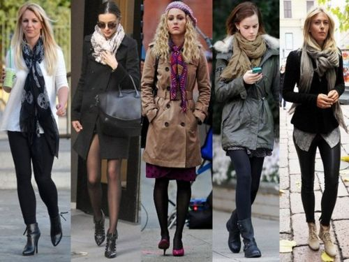 Выбираем шарф к пальто