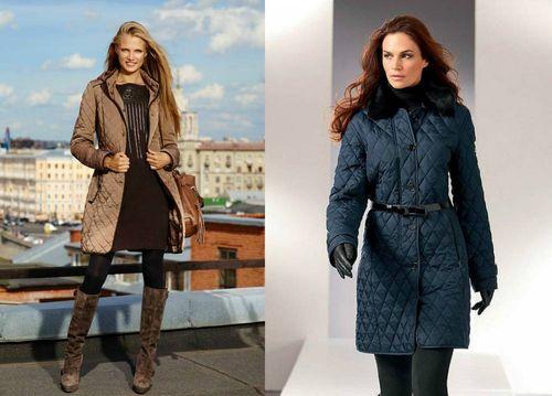 Выбираем стеганые пальто