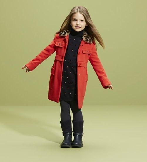Выбираем пальто для девочек