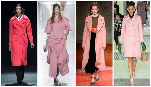Выбираем пальто с цветами