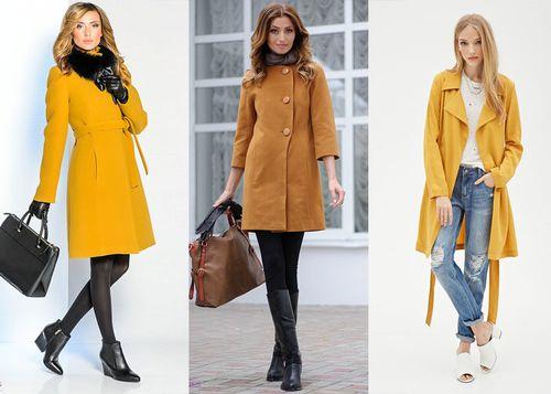 Выбираем пальто коричневого цвета